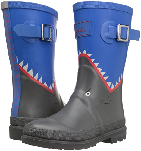 Pictures of Joules Boys' Printed Welly Rain Boot 9 M US 4