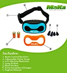 MaKa Dog Barking Control, Training Collar for Small & Medium Sized Dogs- Humane, Safe, No-Shock Anti-Bark Collar - Stop Barking With Vibration & Sound Stimuli - 7 Levels Sensitivity Adjustment from MaKa Products