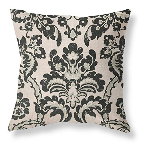 Joyceoo Valentines Day Throw Pillow Covers 18x18 Brown, Easter Throw Pillows for Couch Outdoor Bench Decorative Cotton Linen Gray Throw Pillows Covers