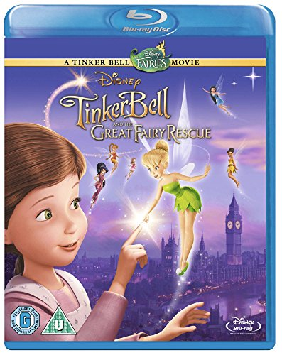 Tinker Bell Great Fairy Rescue BD RET -