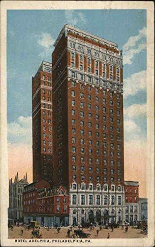 Hotel Adelphia, 13th and Chestnut Streets Philadelphia, Pennsylvania Original Vintage Postcard