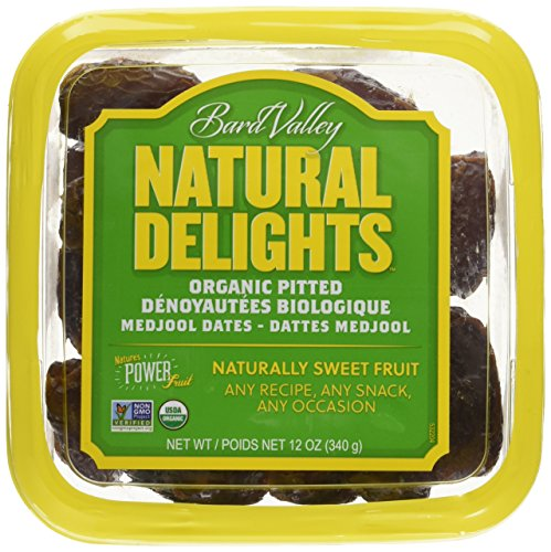 Dates Pitted Organic, 12 Ounce