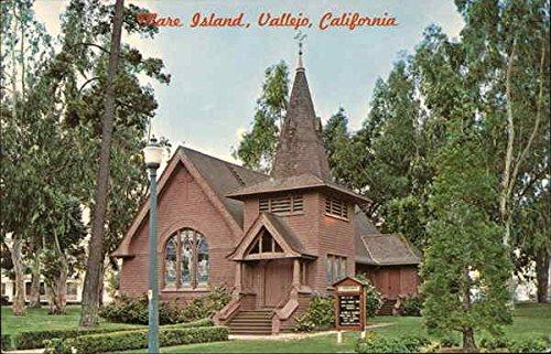St. Peter's Chapel, Mare Island naval Shipyard Vallejo, California Original Vintage Postcard