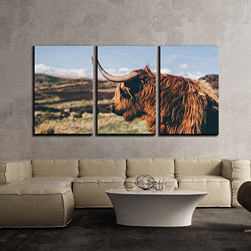Animal of Cattle with Horn x3 Panels