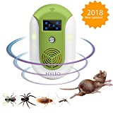 Hyleo Ultrasonic Pest Repellent Pest Control Repeller -Protecting your Family and Property, Get Rid of Mosquito,Rat,Squirrel,Flea,Roach,Rodent,Spider