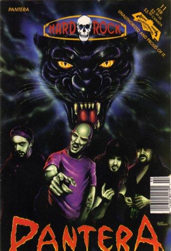 Pantera: Vulgar cowboys from Hell (Hard rock comics)