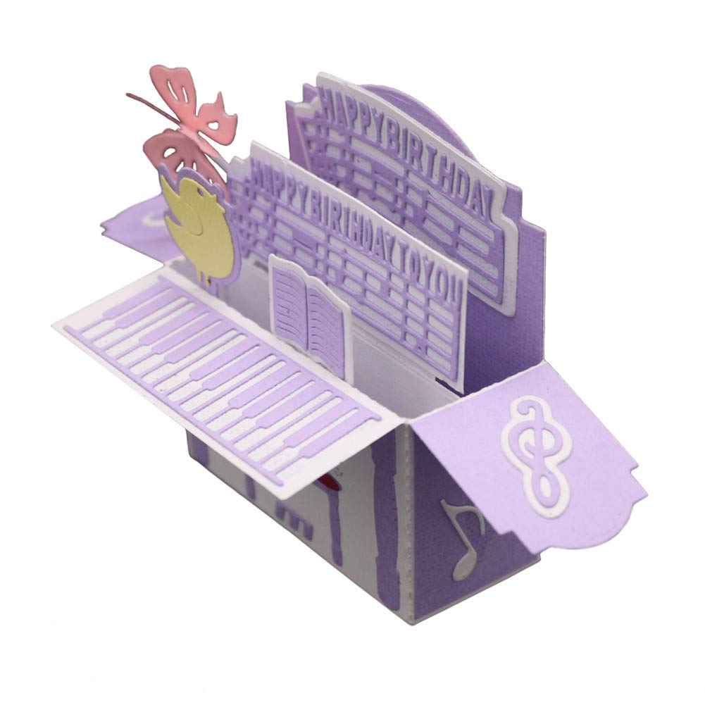 pour Big Shot et Autre Machines FNKDOR Matrices de Decoupe Dies de D/écoupe Scrapbooking Decoupe Album Papier Carte Craft #01 E