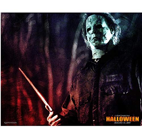 Halloween Michael Myers holding knife up promo 8 x 10 Inch Photo -
