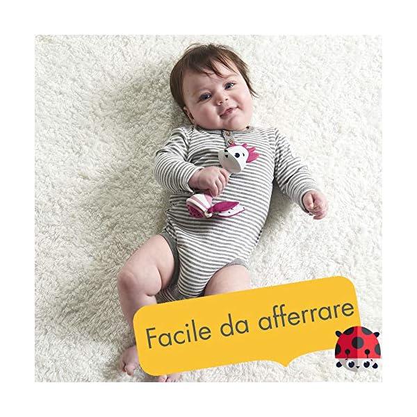 Tiny Love Florence Il Cerbiatto, Sonaglio Neonato con Massaggia Gengive, Rosa 3