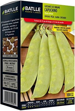 Semillas Leguminosas - Guisante enano Lincoln 250 Gr. - Batlle ...