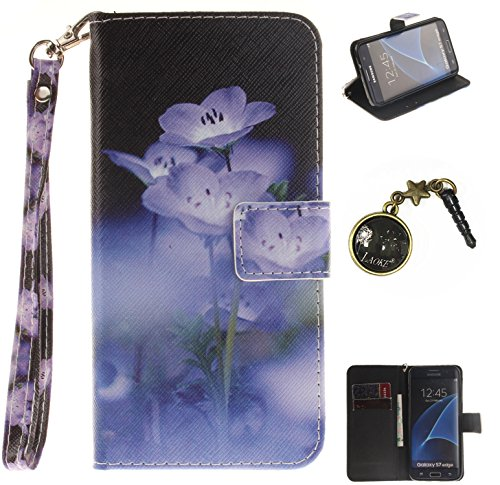 Cover para Carcasa Polvo S7 blanco PC Case nbsp;Edge Funda Painted 3 Carcasa smartphone cubierta De PU teléfono de Galaxy silicona Conector Piel Samsung de Shell 9 Caso móvil x48WTqzg
