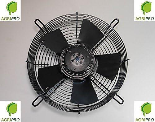 Ventilador axial DN de 250 mm, presurizado, de 55 W, monofásico ...