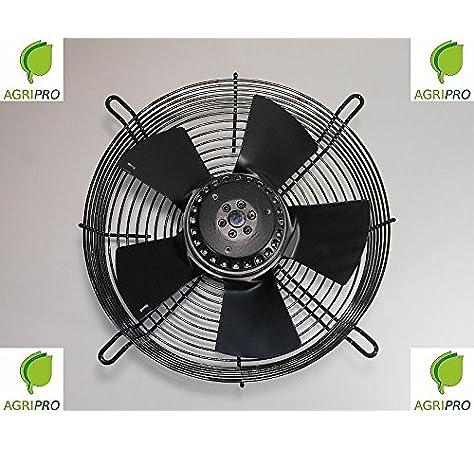 Ventilador Axial Ventilador DN 300 mm campana W 90 monofásico ...