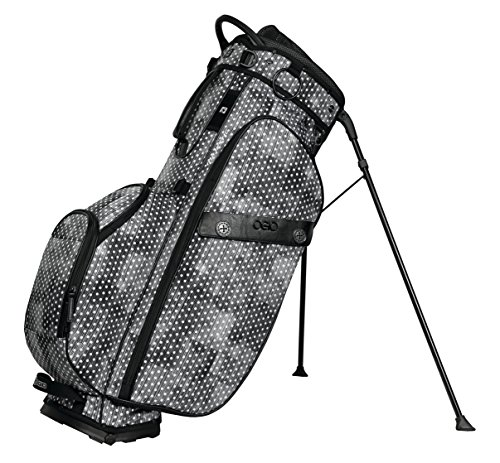 OGIO 2018 Majestic Stand, Polka Dot - Fairway Stand Carry Bag