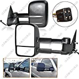 2000 chevy 1500 tow mirrors - Spec-D Tuning RMX-C1088-P-FS Chevy Ck 1500 Ck 2500 3500 Black Power Towing Side Mirrors Tahoe