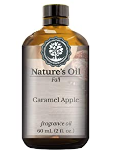Caramel Apple Fragrance Oil (60ml) For Diffusers, Soap Making, Candles, Lotion, Home Scents, Linen Spray, Bath Bombs, Slime