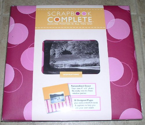 Scrapbook Complete - Inspirations - Tapestry by C R Gibson - Complete ready-made Scrapbook