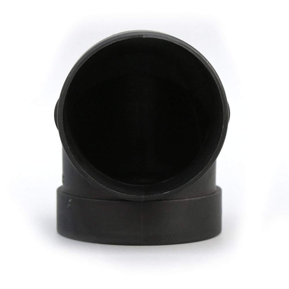 para el Accesorio de Calentador de estacionamiento de Aire Webbersto Eberspaecher Conector de Salida de Codo de Tubo de conducto de Aire de pl/ástico de 75 mm