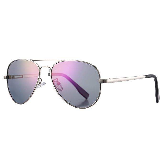 Amazon.com: Azorb - Gafas de sol polarizadas de aviador con ...
