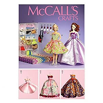 McCall \'s Crafts Schnittmuster 6903 Puppe Kleidung, Accessoires ...