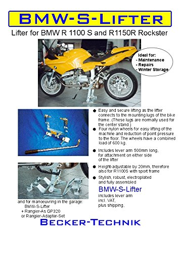 Beker bike lifter R1100S, R1150R, R1200S Becker