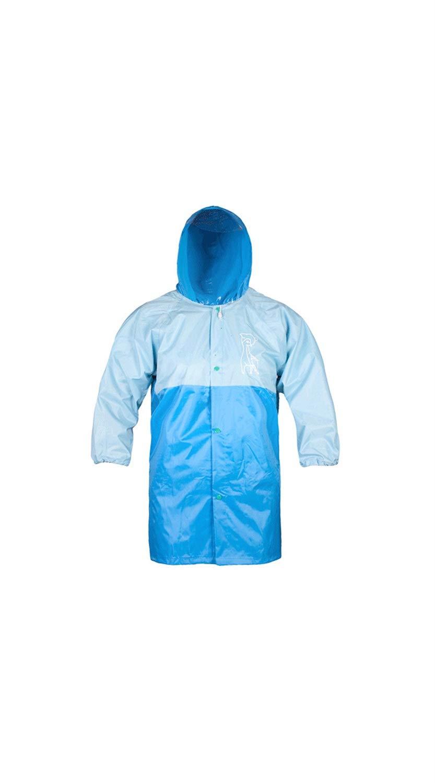 Bleu X-grand SCRT Imperméable pour Enfants avec Sac, Imperméable Assorti Aux Couleurs De La Mode, Poncho De Dessin Animé Mignon Créatif (Couleur   Rose, Taille   XL)