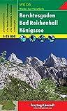 Berchtesgadener Land - Berchtesgaden - Bad Reichenhall - Königssee, Wanderkarte 1:25.000, WKD 5, freytag & berndt Wander-Rad-Freizeitkarten