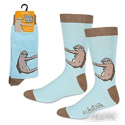 Sloth Socks Standard - Blue