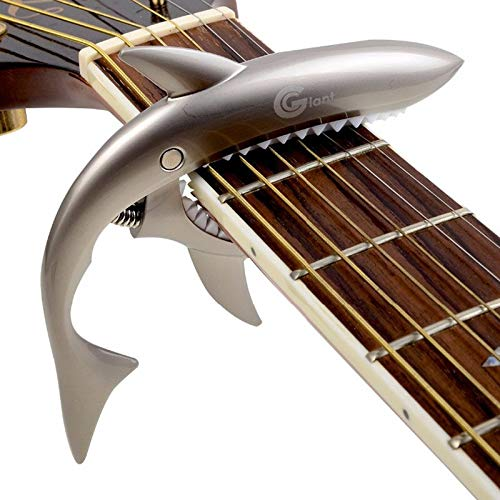 Price comparison product image Golden Store129 Capo Electric Guitar Shark Guitar Capo String Capotraste Violao for Acoustic Electric Guitarra Bass 6Strings 3