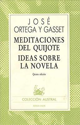 Meditaciones del quijote : ideas sobre la novela: Amazon.es ...