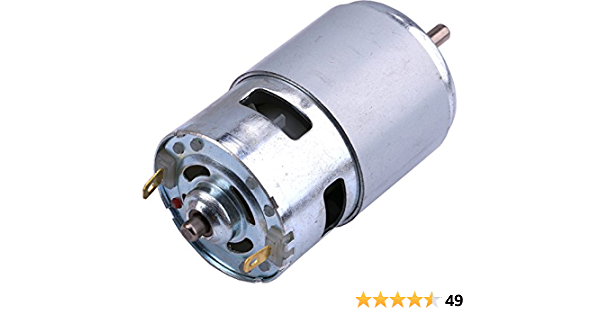 Motor 12V 6000RPM 775 Dc Motor 775 Dc Bearing D Axis D High Speed 30w High Power Couple Low Noise Motor