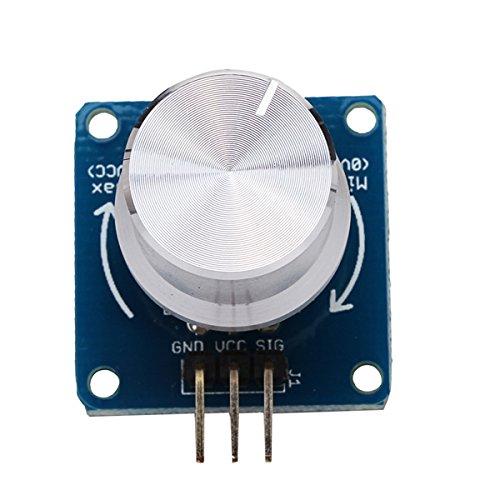 Adjustable Potentiometer Volume Control Knob Switch Rotary Angle Sensor Module For Arduino ()