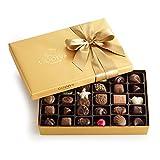 Godiva Chocolatier Gold Ballotin, Classic Gold Ribbon, 36 Piece