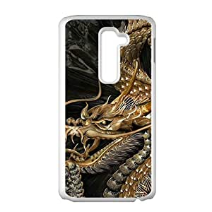 Unque magical dragon Cell Phone Case for LG G2