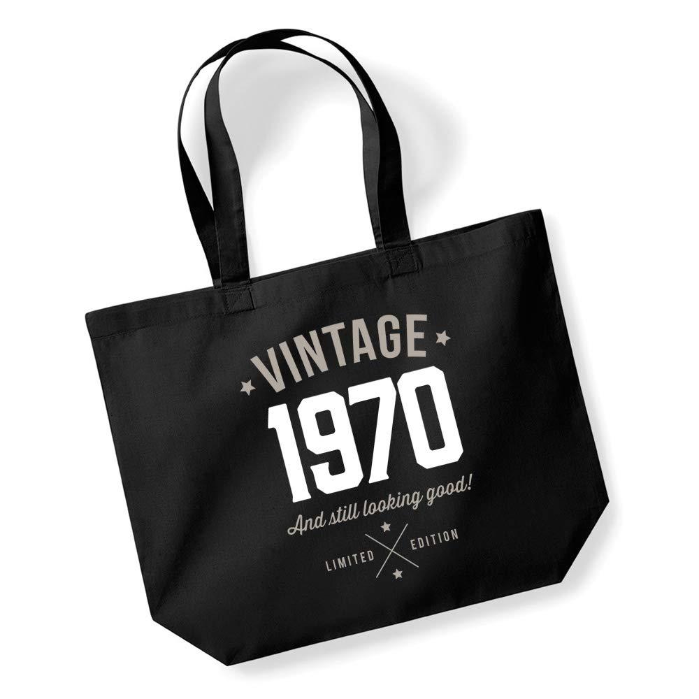 50th Birthday Vintage 1970 Tote Bag Keepsake