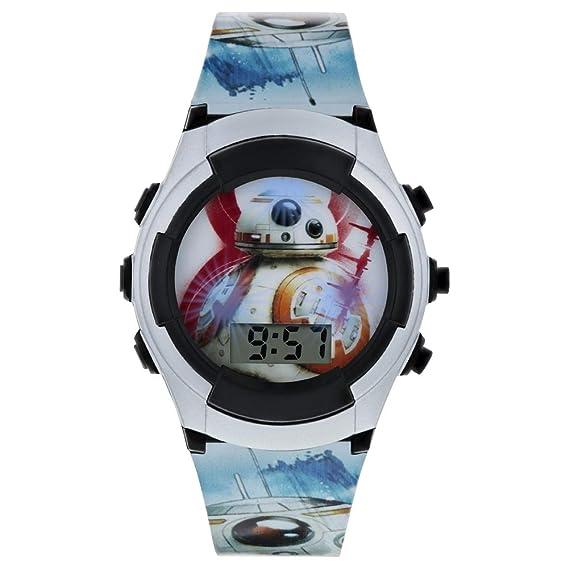 Star Wars Reloj Niños de Digital con Correa en PU SWJ4011: Amazon.es: Relojes