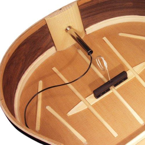 Lr Baggs Transducer - LR Baggs Passive Bridge Plate Transducer including Strapjack for Nylon String Guitars