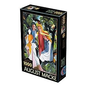 Unbekannt D Toys 1 Puzzle 1000 Pezzi August Macke