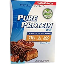 Pure Protein Pure Protein Bar Chocolate Salted Caramel by Worldwide Sport Nutrition