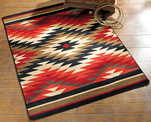 Black Forest Decor Star Burst Southwestern Rug - 3 x 4