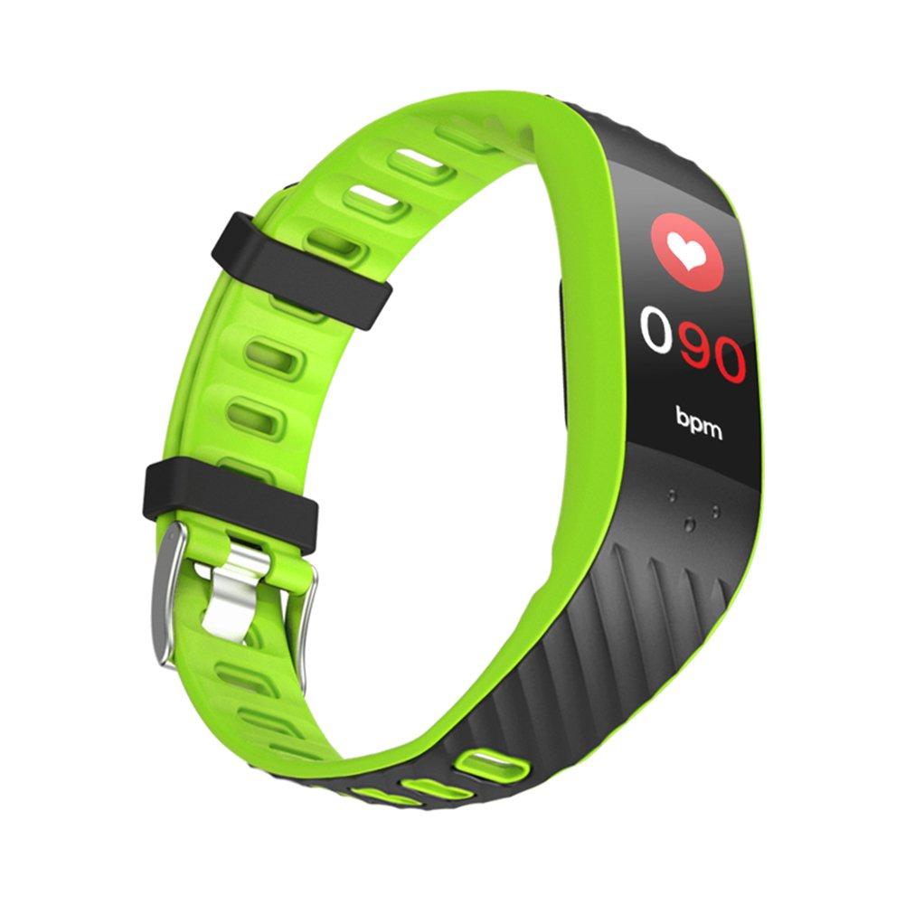 Fitness Tracker,Intelligenza Sonno Pressione sanguigna Monitor della frequenza cardiaca blutooth Activity Tracker Pedometro Bracciale Intelligente con della Signora Cura della Salute modalità-B