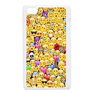 Emoji Custom Plastic Case for iPod Touch 4 by Nickcase