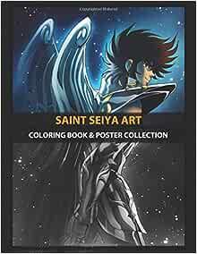 Coloring Book & Poster Collection: Saint Seiya Art Cosmic Pegasus ...