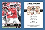 J.T. JT Barrett 2016 ACEO Sports Art Style Football Card - Ohio State Buckeyes
