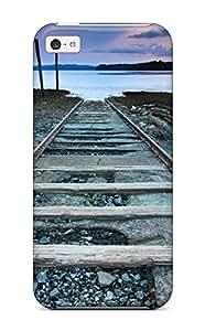 Iphone 5c Case Bumper Tpu Skin Cover For Railroad To Nowhere Accessories by icecream design