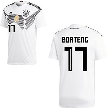 adidas DFB Deutschland Fußball Trikot Home Heimtrikot WM 2018 Herren Kinder mit Spieler Name