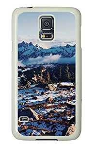 Samsung Galaxy S5 landscapes nature snow 11 PC Custom Samsung Galaxy S5 Case Cover White