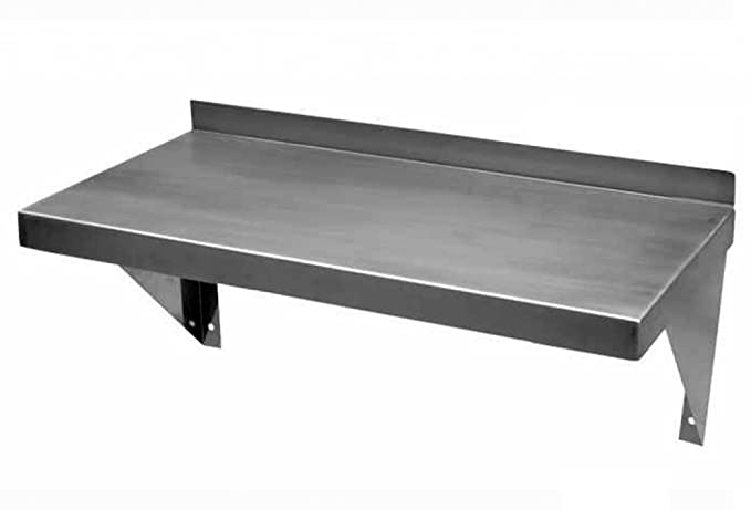 Custom Stainless Steel Wall Shelf