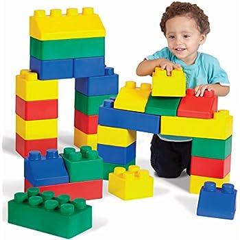 Amazon.com: Edushape Edu-Blocks Set, 26 Piece: Toys & Games
