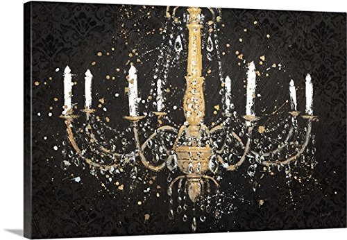 James Wiens Premium Thick-Wrap Canvas Wall Art Print entitled Grand Chandelier I - 20 Grand I